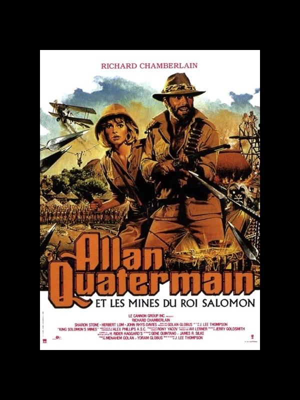 Affiche du film ALLAN QUATERMAIN ET LES MINES DU ROI SALOMON - KING SOLOMON'S MINES