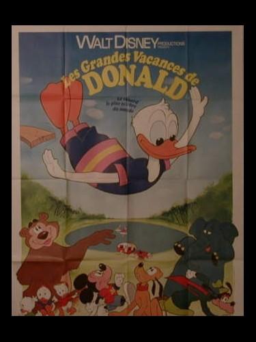 Affiche du film GRANDES VACANCES DE DONALD (LES)