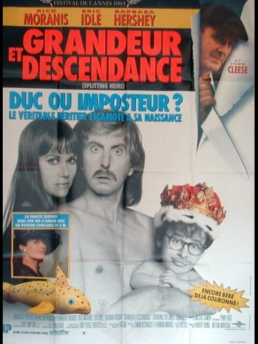 Affiche du film GRANDEUR ET DESCENDANCE - SPLITTING HEIRS