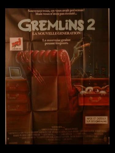 Affiche du film GREMLINS 2 - GREMLINS 2, THE NEW BATCH