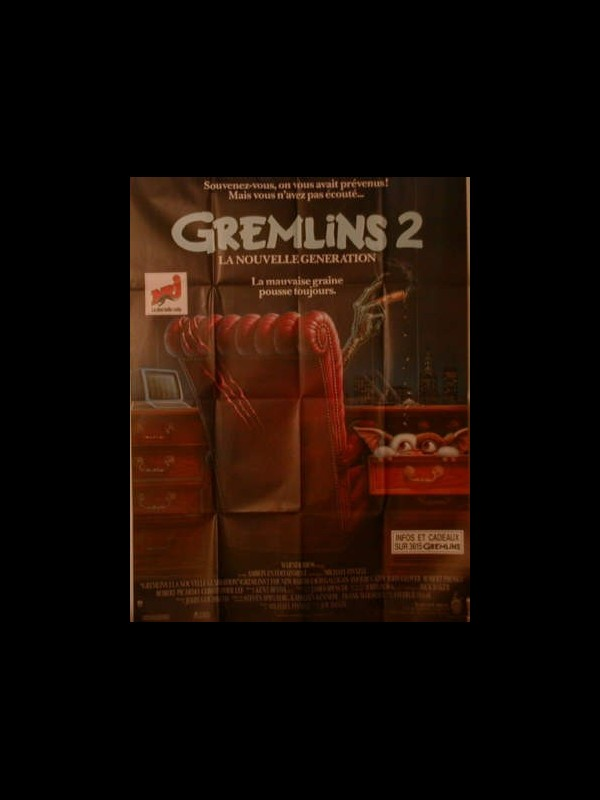 Affiche du film GREMLINS 2 - GREMLINS 2, THE NEW BATCH