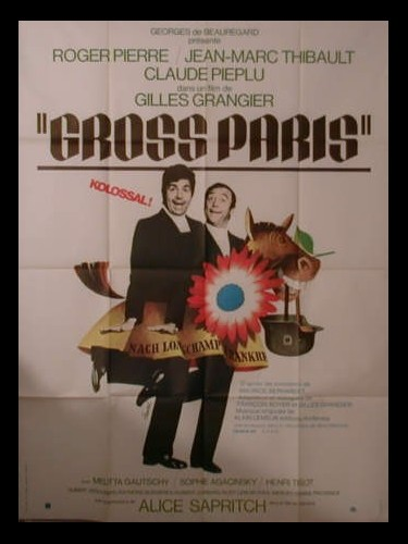 Affiche du film GROSS PARIS