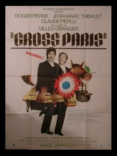 Affiche du film GROSS PARIS