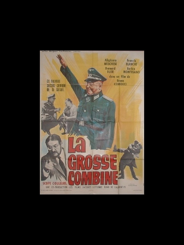 Affiche du film GROSSE COMBINE (LA)