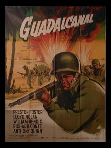Affiche du film GUADALCANAL