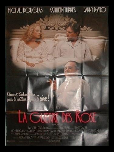 Affiche du film GUERRE DES ROSES (LA)