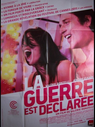 Affiche du film GUERRE EST DECLAREE (LA) - DECLARATION OF WAR