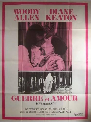 Affiche du film GUERRE ET AMOUR