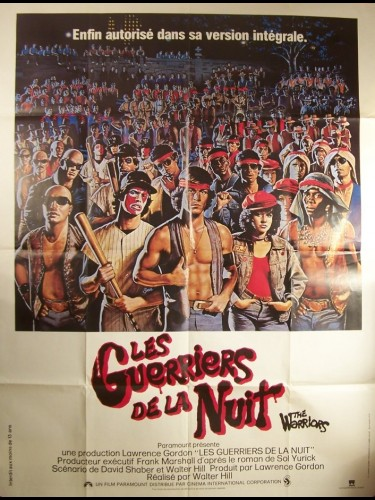 Affiche du film GUERRIERS DE LA NUIT (LES) - THE WARRIORS