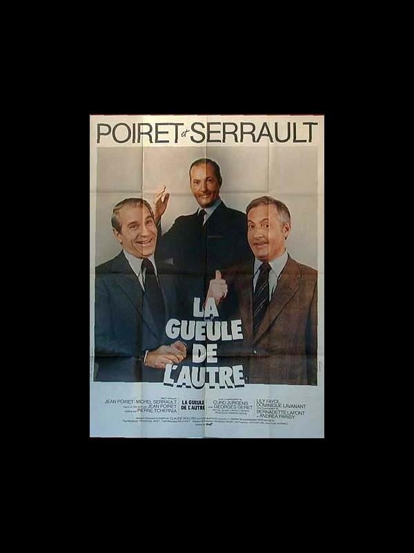 Affiche du film GUEULE DE L'AUTRE (LA)
