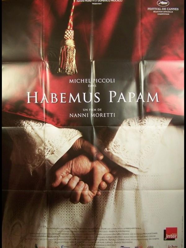 Affiche du film HABEMUS PAPAM