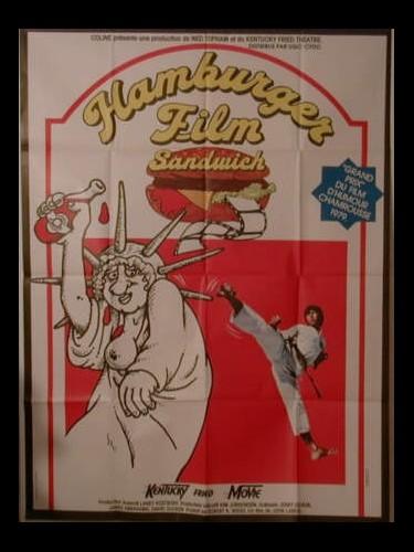 Affiche du film HAMBURGER FILM SANDWICH