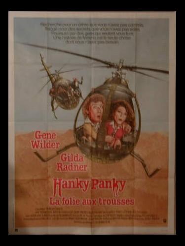 Affiche du film HANKY PANKY (LA FOLIE AUX TROUSSES)