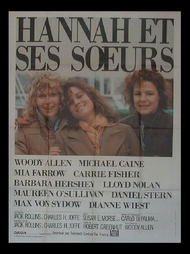 Affiche du film HANNAH ET SES SŒURS - HANNAH AND HER SISTERS