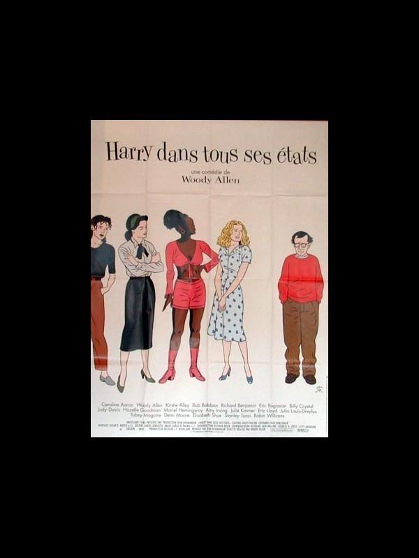Affiche du film HARRY DANS TOUS SES ETATS - DECONSTRUCTING HARRY
