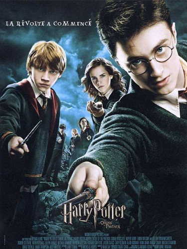 Affiche du film HARRY POTTER 5 ET L'ORDRE DU PHENIX - HARRY POTTER 5 AND THE ORDER OF THE PHOENIX