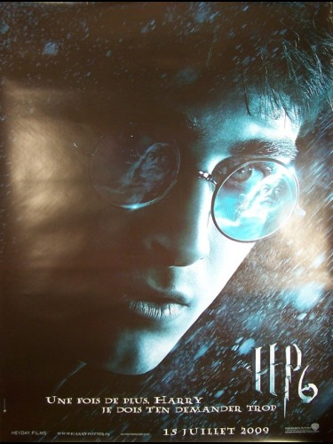 Affiche du film HARRY POTTER 6 (ET LE PRINCE DE SANG MELÉ) - HARRY POTTER AND THE HALF-BLOOD PRINCE