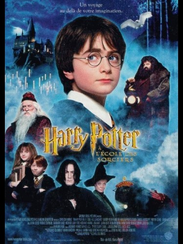 Affiche du film HARRY POTTER A L'ECOLE DES SORCIERS 1 - HARRY POTTER AND THE PHILOSOPHER'S STONE