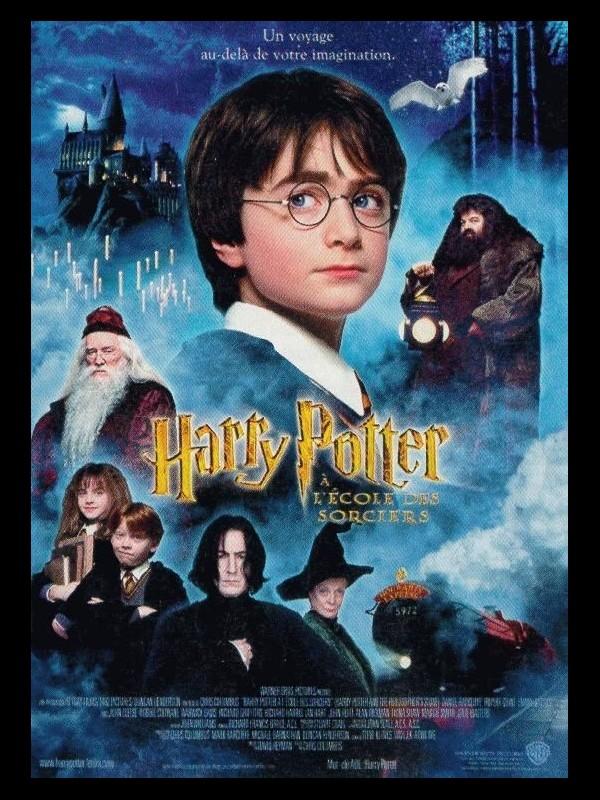 Affiche du film HARRY POTTER A L'ECOLE DES SORCIERS 1 - HARRY POTTER AND THE PHILOSOPHER'S STONE