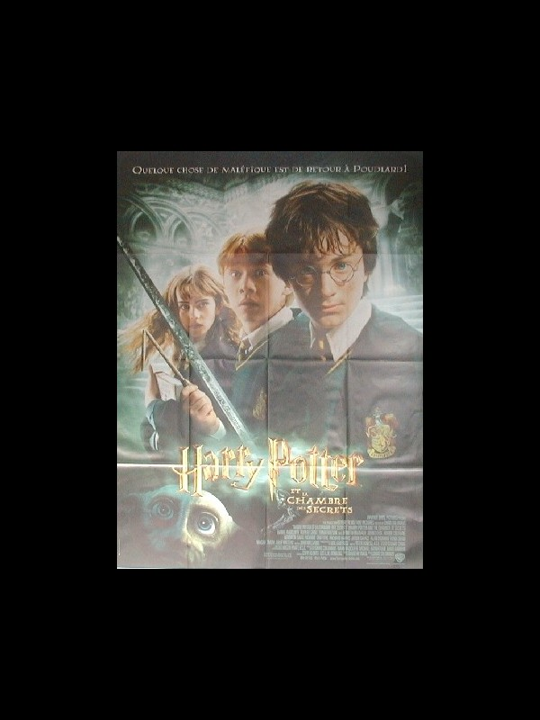 Affiche du film HARRY POTTER ET LA CHAMBRE DES SECRETS 2 - HARRY POTTER AND THE CHAMBER OF SECRETS 2