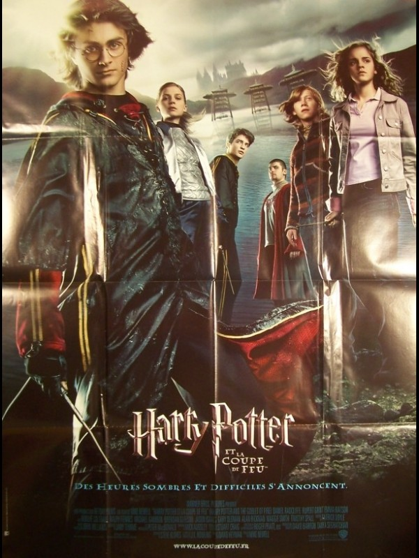 Affiche du film HARRY POTTER ET LA COUPE DE FEU - HARRY POTTER AND THE GOBLET OF FIRE