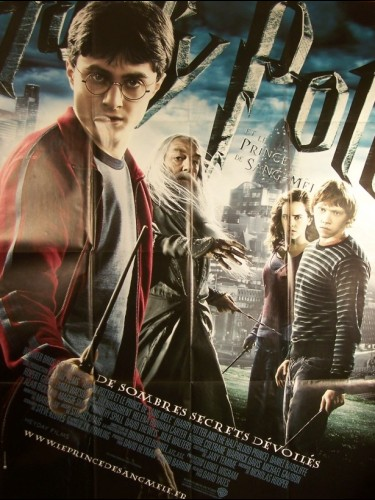 Affiche du film HARRY POTTER ET LE PRINCE DE SANG MELE - HARRY POTTER AND THE HALF-BLOOD PRINCE