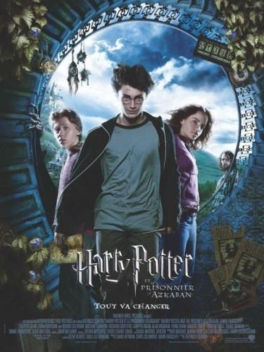 Affiche du film HARRY POTTER ET LE PRISONNIER D'AZKABAN 3 - HARRY POTTER AND THE PRISONER OF AZKABAN