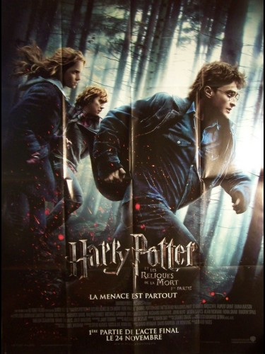 Affiche du film HARRY POTTER ET LES RELIQUES DE LA MORT - HARRY POTTER AND THE DEATHLY HALLOWS