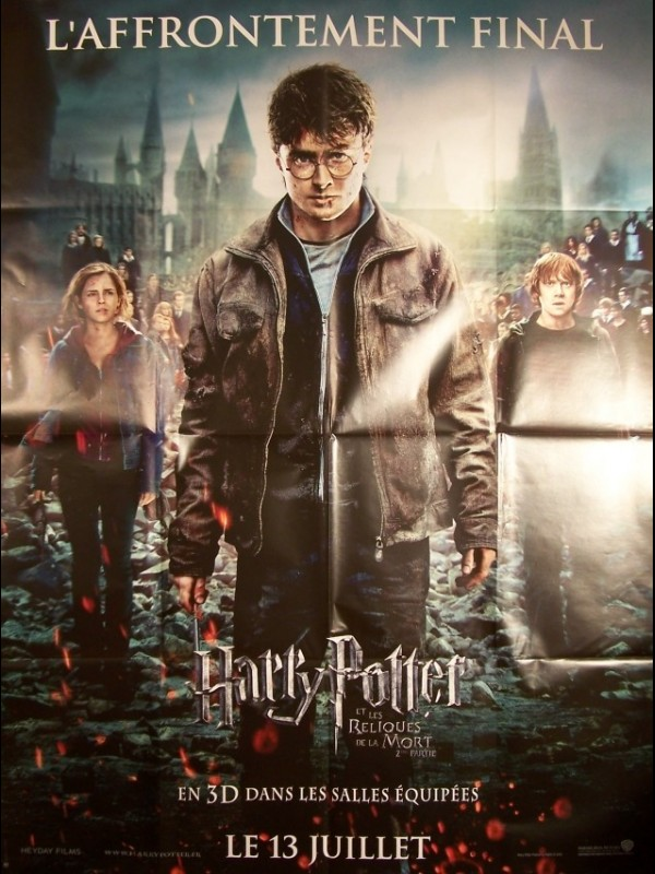 Affiche du film HARRY POTTER ET LES RELIQUES DE LA MORT 2EME PARTIE - HARRY POTTER AND THE DEATHLY HALLOWS: PART 2
