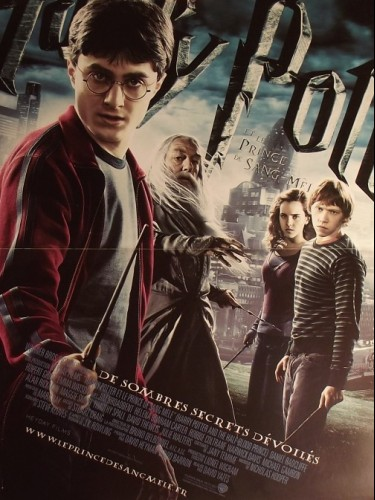 Affiche du film HARRY POTTER-LE PRINCE DE SANG MÉLÉ- - HARRY POTTER AND THE HALF-BLOOD PRINCE