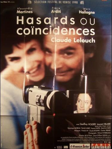 Affiche du film HASARD OU COINCIDENCE