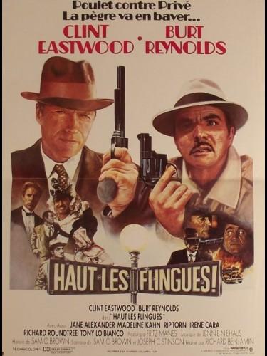 Affiche du film HAUT LES FLINGUES