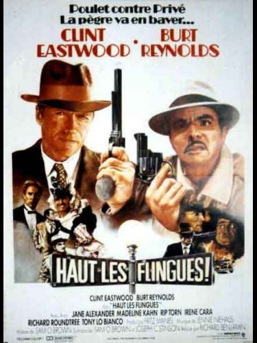 Affiche du film HAUT LES FLINGUES - CITY HEAT