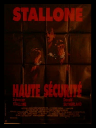 Affiche du film HAUTE SECURITE - LOCK UP