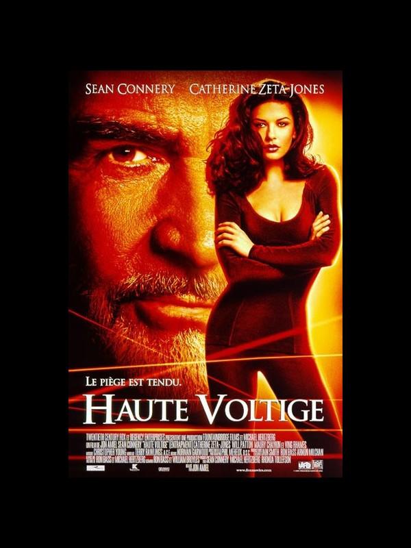 Affiche du film HAUTE VOLTIGE - ENTRAPMENT