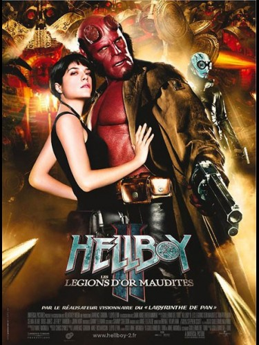 HELLBOY 2 LES LEGIONS D'OR MAUDITES - HELLBOY 2 THE GOLDEN ARMY