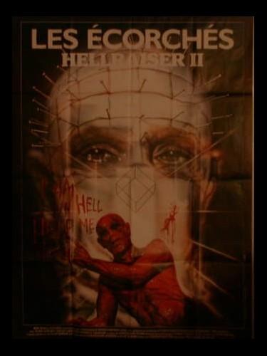Affiche du film HELLRAISER 2 - LES ECORCHÉS - - HELLBOUND