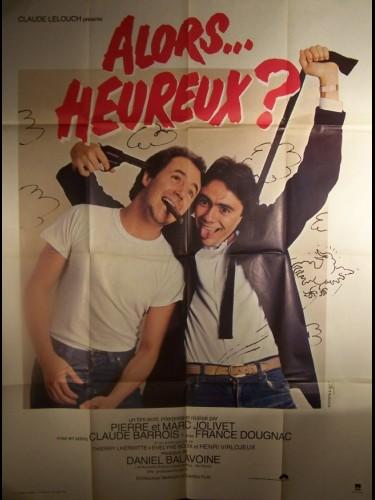 Affiche du film ALORS... HEUREUX
