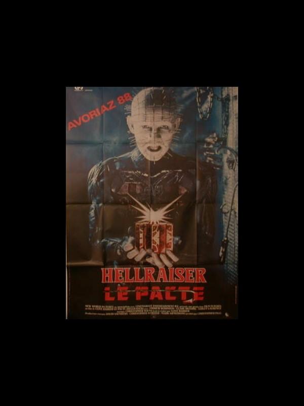 Affiche du film HELLRAISER LE PACTE
