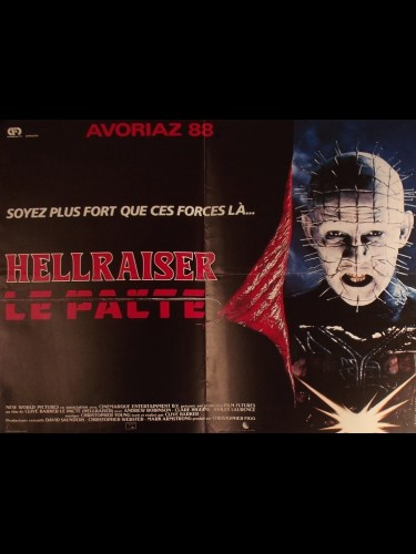 Affiche du film HELLRAISER -LE PACTE-