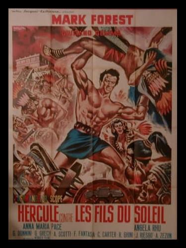 Affiche du film HERCULE CONTRE LES FILS DU SOLEIL - ERCOLE CONTRO I FIGLI DEL SOLE