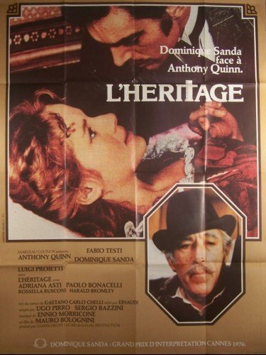 Affiche du film HERITAGE (L')
