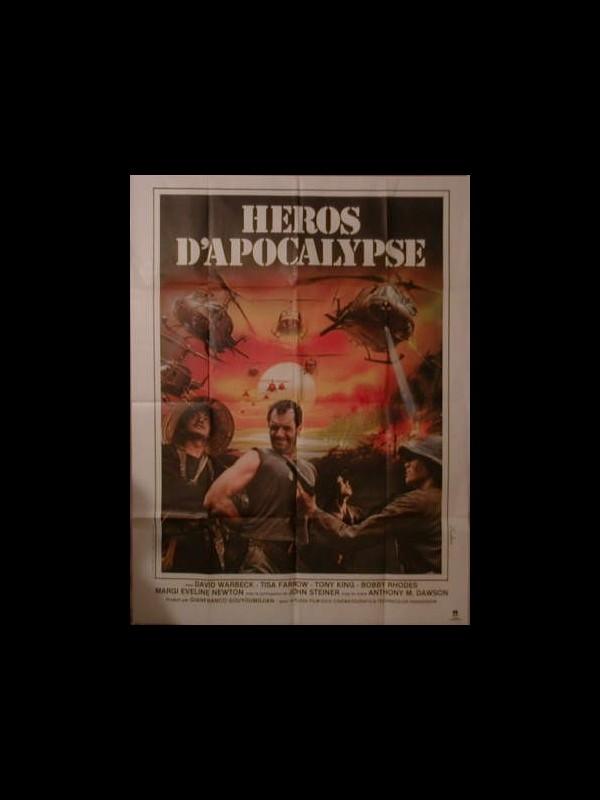 Affiche du film HEROS D'APOCALYPSE - L'ULTIMO CACCIOTORE