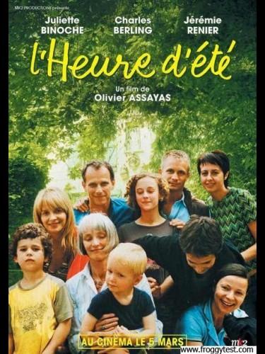 Affiche du film HEURE D'ÉTÉ (L')