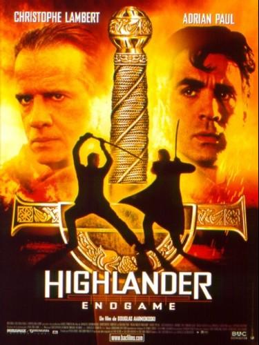Affiche du film HIGHLANDER 4 : ENDGAME - HIGHLANDER 4 : ENDGAME