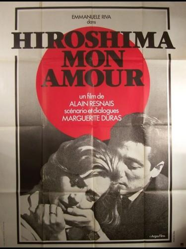 Affiche du film HIROSHIMA MON AMOUR