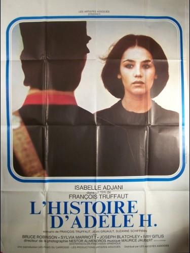 Affiche du film HISTOIRE D'ADELE H