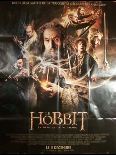 Affiche du film HOBBIT (LE) LA DESOLATION DE SMAUG - THE HOBBIT : THE DESOLATION OF SMAUG