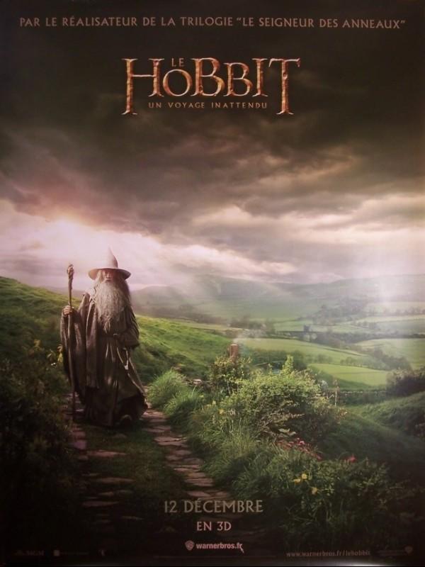 Affiche du film HOBBIT (LE) -UN VOYAGE INATTENDU- (AFFICHE ROULÉE)