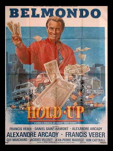 Affiche du film HOLD-UP